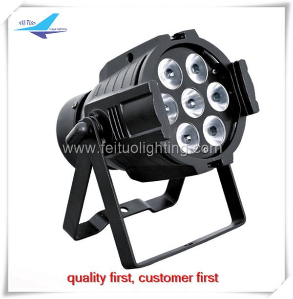 Free shipping 24 pieces mini led par 7x15w rgbwa led par 64(China (Mainland))