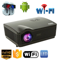 5500Lumens projector full hd Quad Core Android 4 4 WiFi Smart 1080P 3D LCD Home Theater