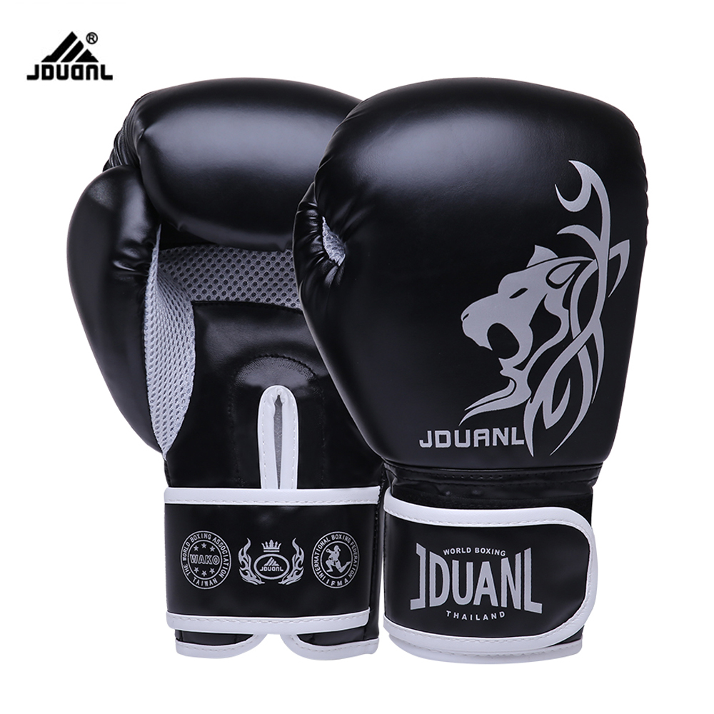 Free Shipping 10oz Cheetah High Quality PU Boxing Gloves Fighting Sports Wearable Breathable For Training Free Size for Adults(China (Mainland))