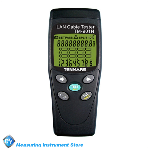 TENMARS TM-901N Portable Network Tester LAN Cable Tester(China (Mainland))