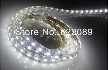 The Popular 100M 6000LEDs IP67 220V  SMD 3528 LED strip  +1 EU Power Plug/Warm white/White/R/G/B/Y