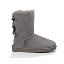 UG Botas Nieve de Las Mujeres 2017 de la Marca Australia mujer botas Botines Zapatos de Piel de Cuero de las señoras Patea Los Zapatos Calzado martas Snowboots 34-42(China (Mainland))