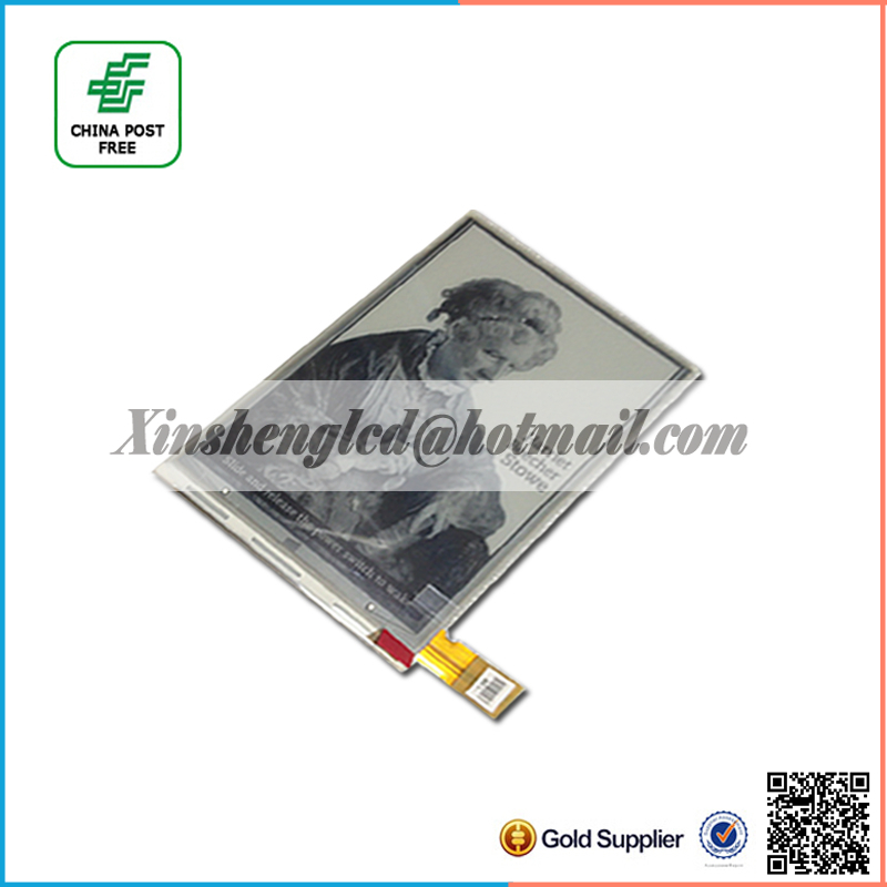 New Original LCD Screen For PocketBook 614/Sony PRS-T1/PRS-T2 Ebook e-Readers Module Replacement(China (Mainland))