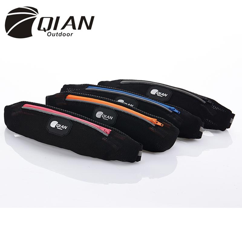QIAN OUTDOOR casual waist bag tactical running belt bag men women travel fanny pack waist pack