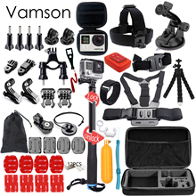Buy Vamson Gopro Accessories Set Gopro Hero 5 4 3 2 Kit Mount Selfie Stick Monopod SJCAM Xiaomi Yi 2 Eken Camera VS88 for $35.10 in AliExpress store