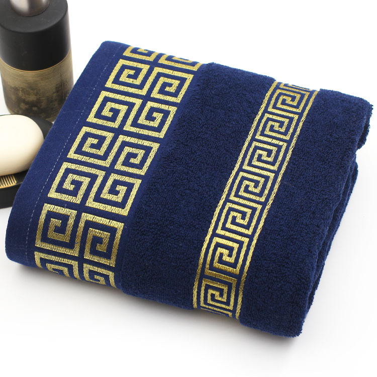 Free shipping luxury men face towel 32*72cm super soft 100 cotton towel brand home use bathroom(China (Mainland))