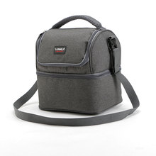 Buy 7L Lunch bag Portable Insulated Picnic Box 600D Oxford Solid Thermal Lunch box Food Picnic Bag Cooler Tote Handbags for $15.99 in AliExpress store