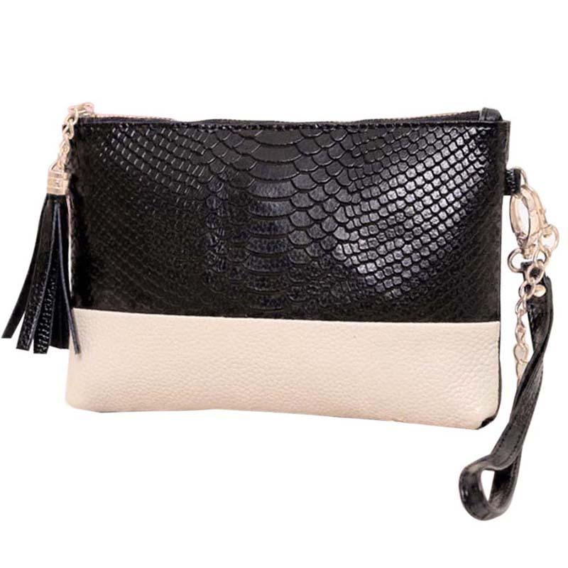 Free Shipping Leather Tassel Handbags Shoulder Bags Messenger Bag Crocodile Evening Bags Hot Sale M3AO(China (Mainland))