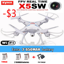 Real-image Transmission SYMA X5SW kvadrokopter Remote Control Helicopter Quadcopter Drone With Wifi FPV Camera