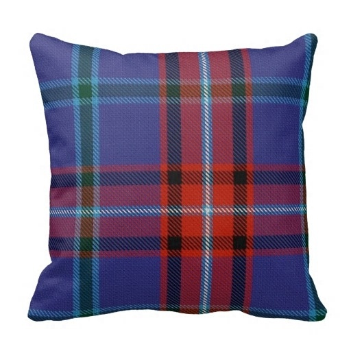 Beautiful Glenn font b Tartan b font Pillow Case Size 45x45cm Free Shipping