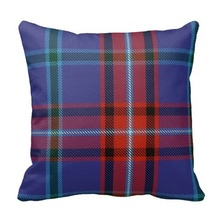 Beautiful Glenn Tartan Pillow Case (Size: 45x45cm) Free Shipping