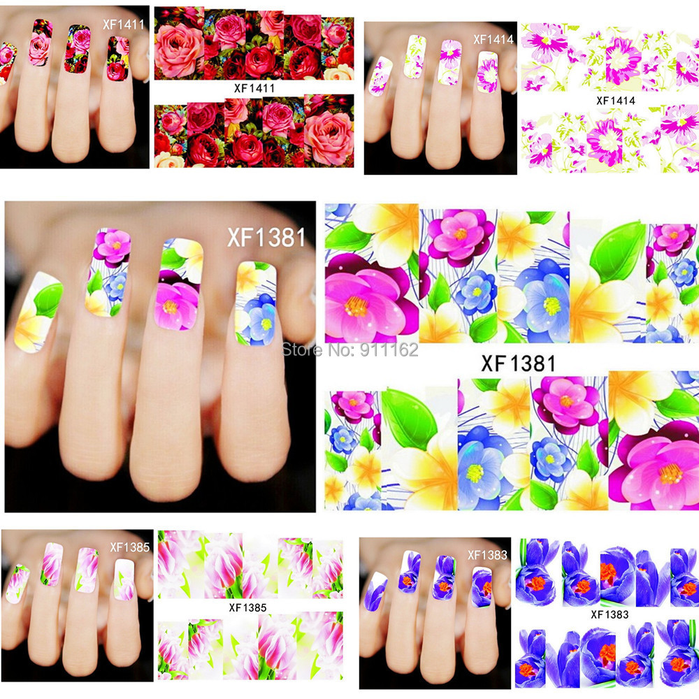 Наклейки для ногтей Yifu's