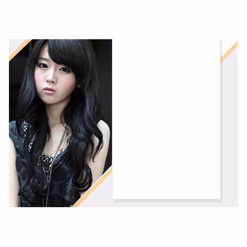 New Arrival Fashionable Cheap Price Women Sexy Style Heat Resistance Natural Wig Synthetic Black Colour Hair Free Shipping<br><br>Aliexpress