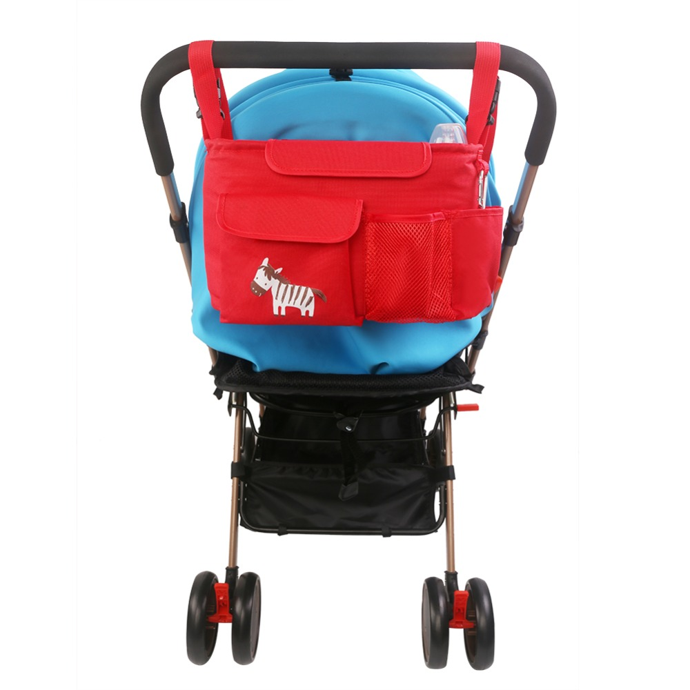 Stroller Organizer Bag Baby Carriage Pram Buggy Cart Bottle Bags Stroller Accessories Car Bag Diaper Nappy Changing Bag(China (Mainland))