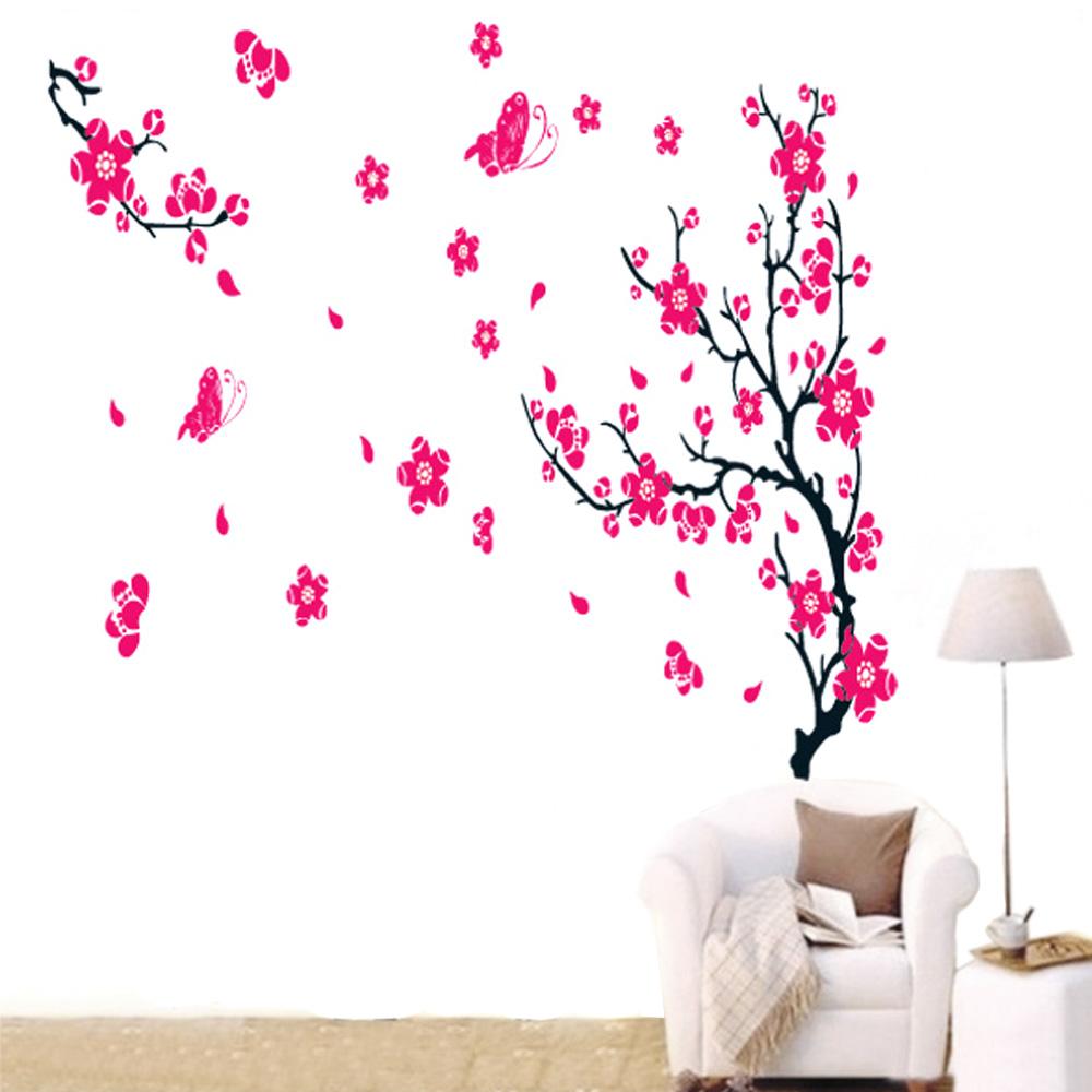Стикеры для стен OEM Prunus DIY Adesivo H11177 стикеры для стен oem diy 3d ay9985