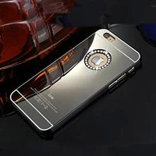 Роскошные золотые сивер черное зеркало пк трудно шику оболочки коке пластиковые горный хрусталь алмаз Crysta чехол принципиально для iPhone 4 4S 4 / 4S
