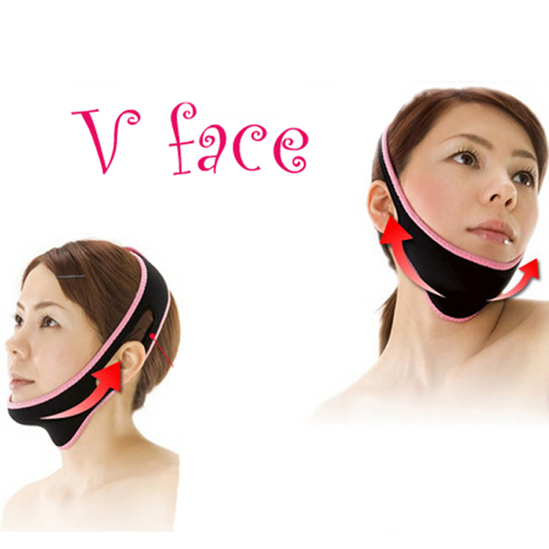 1pc Powerful Facial Slimming Mask Face-lift Thin Face Slimming Bandage Skin Care Shape Lift Reduce Double Chin Face Belt(China (Mainland))
