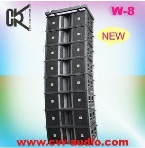 12' compact high-power Line Array concert speakers