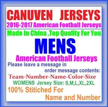 MENS Canuven American Football Jersey Throwback Custom Stitched Movie Direct Cheap Authentic Sports Jerseys USA Soccer China 5XL(China (Mainland))