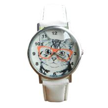 Cat With Glasses Pattern Watches (4 colors)