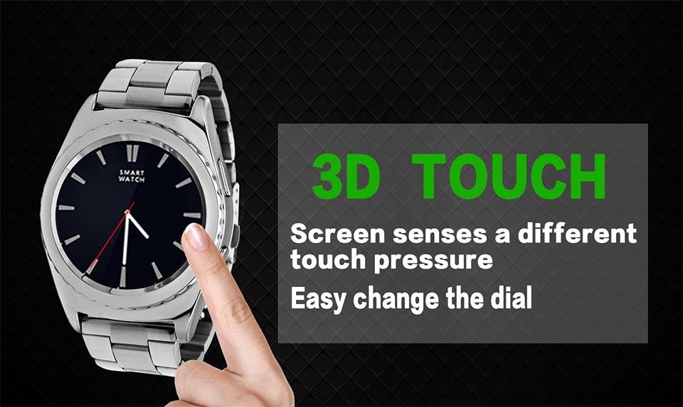 ถูก ฉบับที่1 G4สมาร์ทนาฬิกาบลูทูธสนับสนุนซิม/บัตรTFหัวใจอัตราสุขภาพติดตามS Mart W Atchสำหรับแอปเปิ้ลซัมซุงเกียร์s2หุ่นยนต์PK G3