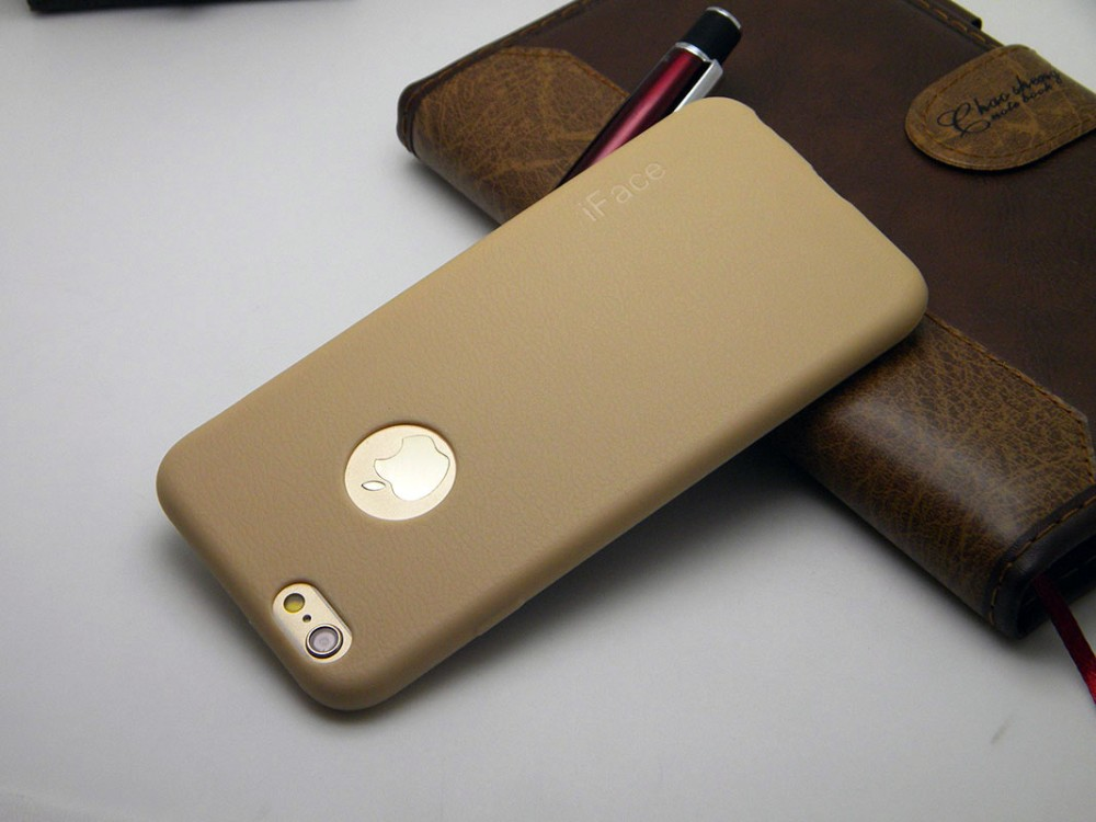 1pc Luxury case for iphone 6 6s 4.7 inch leather Pattern TPU silicone material soft cases cover skin
