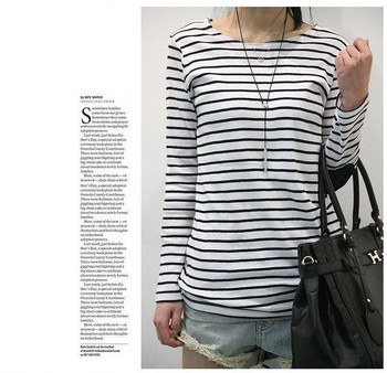Black And White Striped Shirt Women