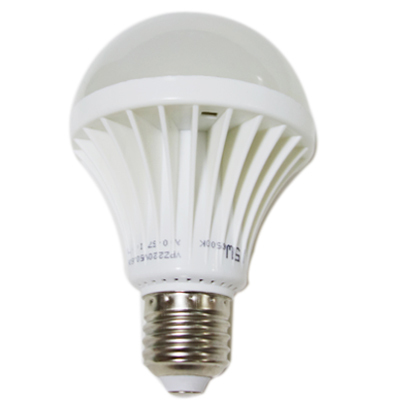 Big Discount E27 LED Light Bulb 220V 3W 5W 7W 9W 12W 15W Warm Cool White Plastic Shell LED Lamp Super High Quality CE FCC RoHS(China (Mainland))