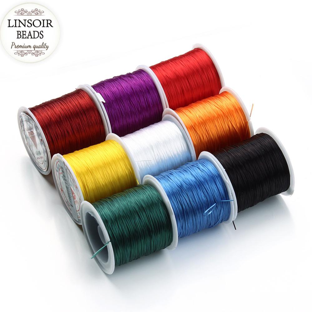 Lastique cordon pour bracelets promotion achetez des lastique cordon pour bracelets - Fil elastique pour bracelet ...