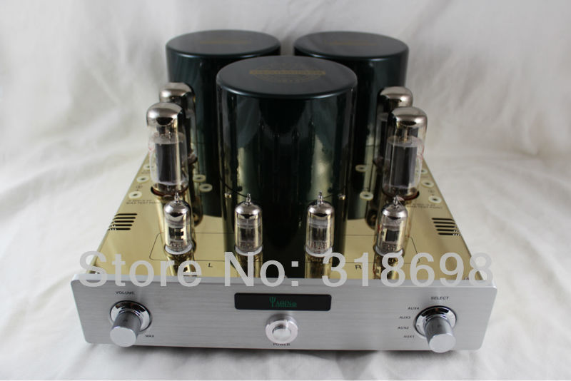 YAQIN MC10T EL34 x 4 Class A Valve Tube Integrated Amplifier(China (Mainland))