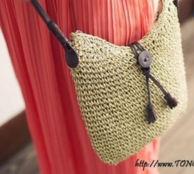 Bag Crochet Knitting Bag