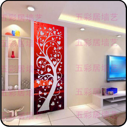 40*180cm 2014 New Euope Ikea Style Entranceway Larger Tree 2mm Thick Wall Mirror Acrylic Crystal Stickers Home Decor W4 - Yiwu Co., Ltd store