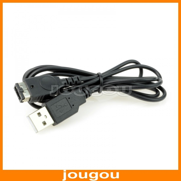 USB Charging Cable For Nintendo DS NDS GBA Game Boy Advance SP 1.2M Black(China (Mainland))