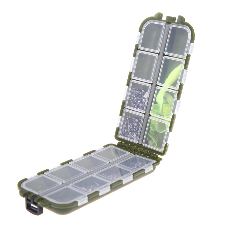 High Quality 8 Compartments Fishing Tackle Boxes Storage Case Fly Fishing Lure Spoon Hook Bait Tackle Box(China (Mainland))