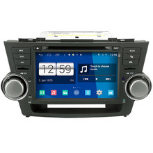 Winca S160 Android 4.4 System Car DVD GPS Headunit Sat Nav for Toyota Highlander / Kluger 2008-2012 with Wifi / 3G Host Radio(China (Mainland))