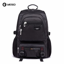 YESO Brand Men and Women Laptop Computer Backpacks Bags Business Camping Backpack Black School Bag 2016 Fashion 3 colors
