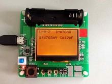Free shipping,   GM328 transistor tester  ESR meter  LCR meter  Cymometer  square wave generator