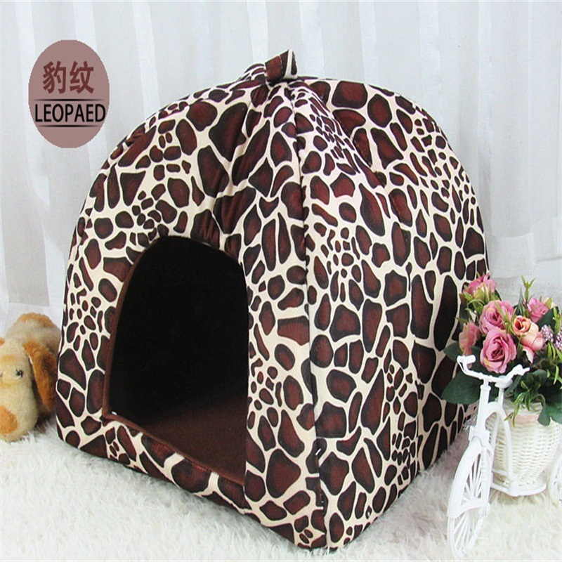 New Pet Supplies High Quality Dog House Soft Strawberry Cat Rabbit Bed House Kennel Doggy Warm Cushion Basket for Puppy Home(China (Mainland))