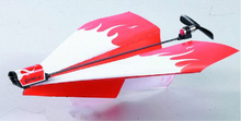 New Kid DIY Power Plane Glider Electric Paper Airplane Module Toy Gift(China (Mainland))