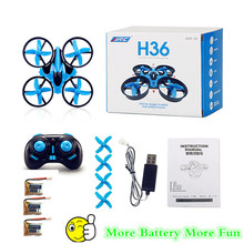 Buy mini drone quadcopter jjrc h36 2.4Ghz 6 Axis gyro rc drones remote control helicopter mini dron toys quadrocopter children for $18.23 in AliExpress store