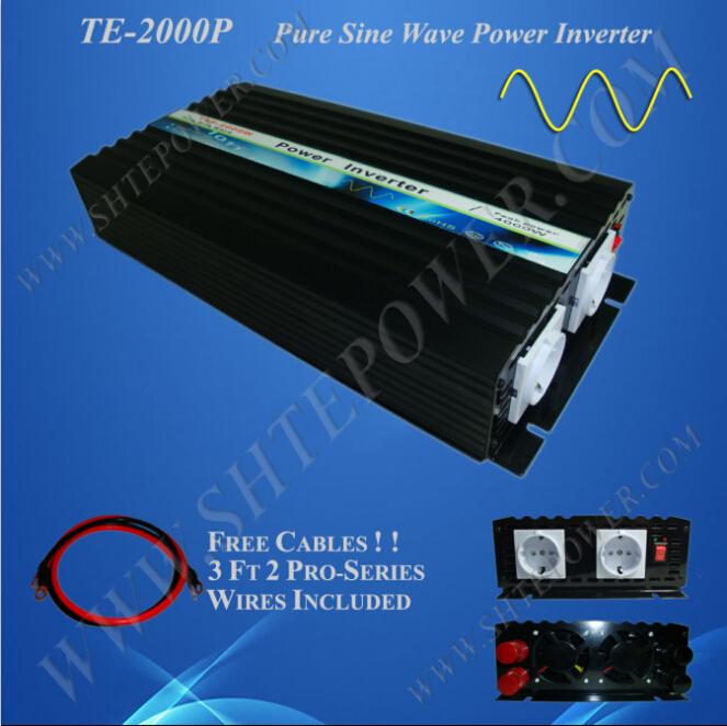 solar inverter 12v 2000w pure sine wave inverter 2000w off grid inverter 12v 240v(China (Mainland))