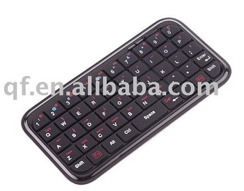 3PCS free shipping retail Mini Bluetooth Keyboard