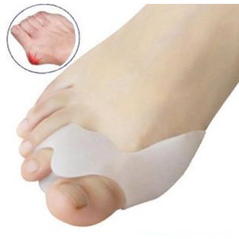 Hot Selling Toe Seperating Gel Pedicure Shield Toe Separators Stretchers Bunion Protector Straightener Corrector Alignment(China (Mainland))