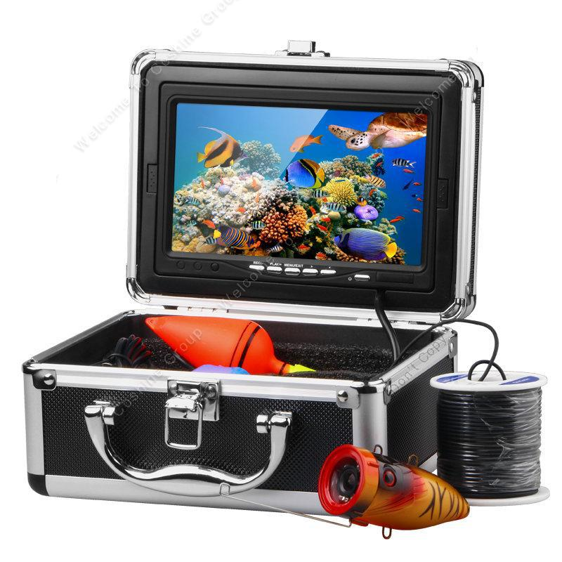 "Free Shipping 7"" LCD HD 15M Underwater Video Camera DVR System Fish Finder Ocean ICE Fishing(China (Mainland))"