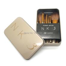 2015 new naked 3 makeup brushes maquiagen professional Cosmetic Facial nake Makeup Brush Tool Kit 12 pcs/set