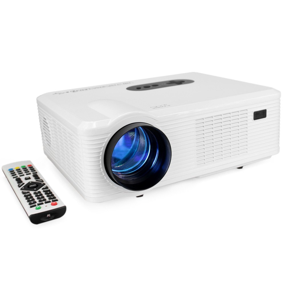 Cl720 led projector 3000 lumens 1280 800 pixels with for Highest lumen pocket projector