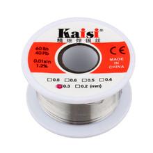 Freies Verschiffen 0,3mm Zinn Blei Kolophonium Kern Lötdraht 50g(China (Mainland))