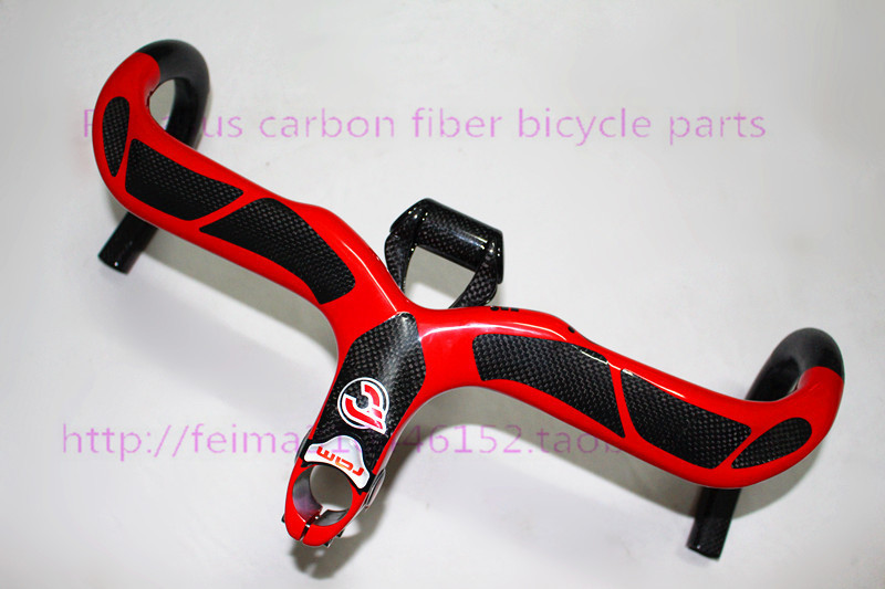 2015 Ram 2 Bianca full carbon fiber road bike handlebar bicycle handlebar bend the road car + bike points are supported(China (Mainland))