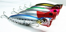 13cm/36g Floating Type Popper Baits Fishing Lure  VMC hook Three Size Five Colors(China (Mainland))