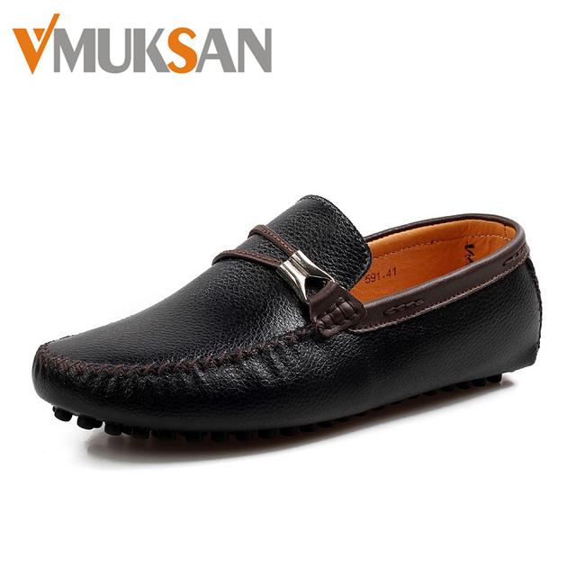 2016 новых мужских вождения обувь реальные кожаные квартиры мужчины итальянский бизнес ...